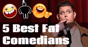 5 Fat comedians