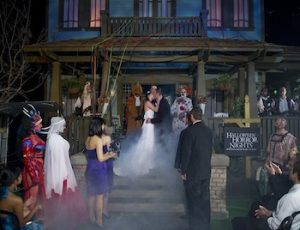 Haunted House Wedding