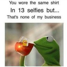 Kermit (But That's None of My Business)