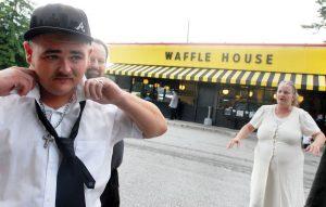 waffle house wedding