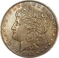 1893 Morgan Silver Dollar