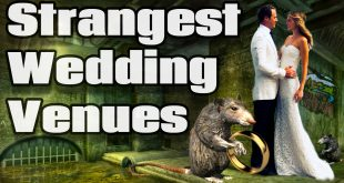 Strange Wedding Venues